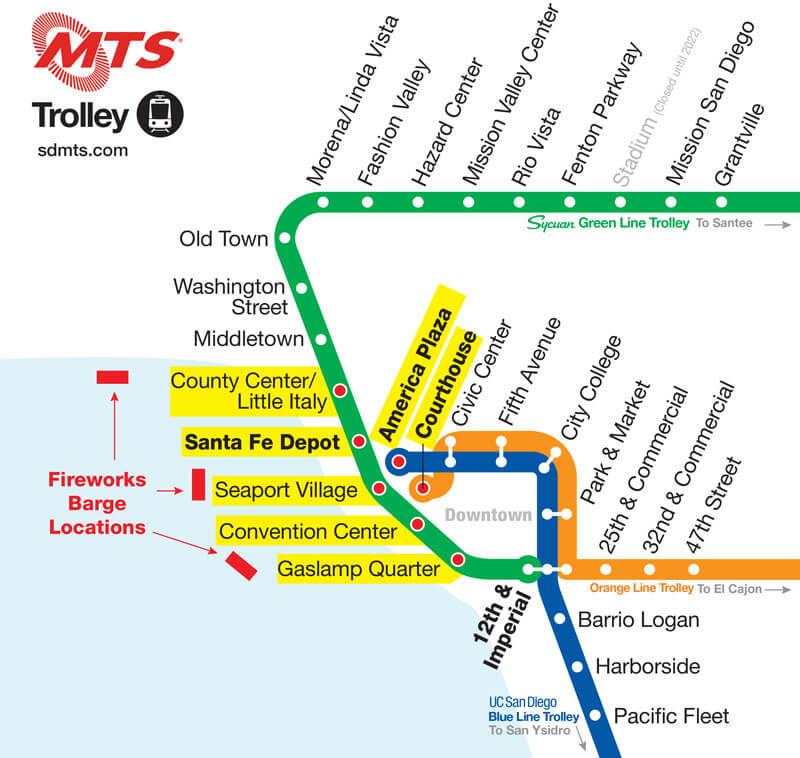 MTS trolley 2021